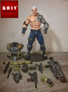 Cable Josh Brolin (Marvel Legends) Custom Action Figure