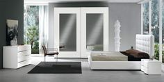 Modern Bed / Bedroom Set Scacco by SPAR, Italy