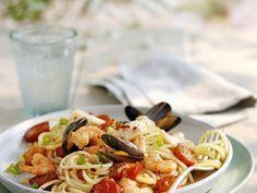 Spaghetti met zeevruchten - Libelle Lekker!
