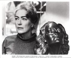 Joan Crawford and bust in Strait-Jacket