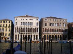 Palazzo Loredan and Palazzo Farsetti, early thirteenth century, Grand Canal, Venice