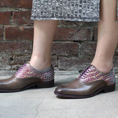 The City Angel DAMASCUS will watch over your oxford-loving sole.
