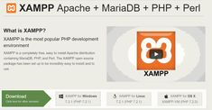 XAMPP is a very easy to install Apache Distribution for #Linux #Solaris #Windows #MacOSX #Apachewebserver #MySQL #PHP #Perl #FTPserver #phpMyAdmin #XAMPP #Technology #programmer #Coding #Proramming #Codingfun #Wireshark #Hacking #Technews #TechTrick #EthicalHacking #KaliLinux #Networking #penetrationtesting #xampp #xamppserver #window10 #xamppsrverwindow #installappserverwindow10 It Network, Mac Os, Open Source, Windows 10, Linux, Tech News, Coding, Technology, App
