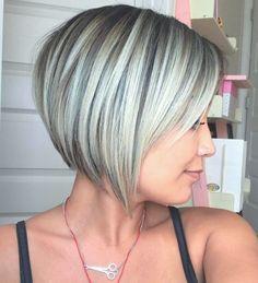 Elegant Hairstyles Latest Short Hairstyles For Spring - - Hairstyles Latest Short Hairstyles For Spring - - Chic Short Hair, Short Grey Hair, Short Hair With Layers, Short Hair Cuts, Long Hair, Thick Hair, Short Wavy, Long Curly, Wavy Hair