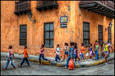 Sunday morning on the streets of Cartagena, Colombia (Photo by szeke) Latin America, South America, Costa Rica, Mysterious Places, Win A Trip, The Beautiful Country, World Best Photos, Travel Photography, Street View