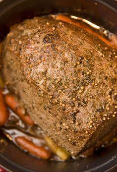 Easy Crock Pot Pot Roast | Crockpot Meals