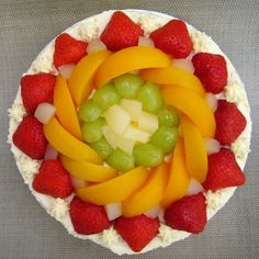 fresh fruit | Sam Tan's Kitchen: Fresh Fruit Cream Cake