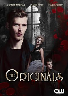 Mikaelson siblings: Klaus, Rebekah, and Elijah. Joseph Morgan / Claire Holt / Daniel Gillies. the originals via tumblr