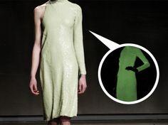 Halston Glow-in-the-Dark Sequined Dress