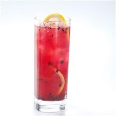 Berry Berry Lemonade Recipe -We serve this refreshing tea daily on our U-pick organic blueberry farm and get rave reviews and requests for the recipe. You can strain the tea or leave in the tasty bits of blueberry.—Delores Green, Monticello, Florida