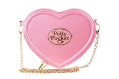 Our Polly Pocket handbag takes us right back to our childhood! This lovely heart shaped bag is created as a replica of an original Polly Pocket house, the hard Polly Pocket, Handbags On Sale, Luxury Handbags, Novelty Handbags, Ladies Handbags, Ladies Purse, Novelty Bags, Trendy Handbags, Pink Handbags