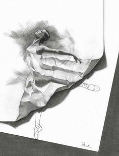 Arte - Desenho Bailarina