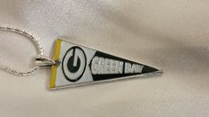 Green Bay Packers .925 Italian Sterling silver by StonedElements