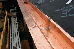 Copper gutters, dormer vent, Connecticut roofing Copper House, Copper Gutters, House Trim, Connecticut, Construction, River, Google Search, Wood
