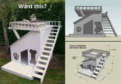 Dog house.. i wish!