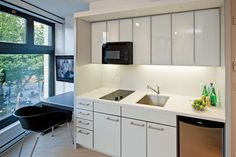A 300-square-foot Vancouver apartment - read this article on micro-housing > Micro-Apartments in the Big City: