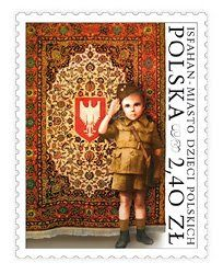 In the summer of 2008, the Polish postal service issued a stamp commemorating the role of Isfahan in caring for Polish children. | Polish Refugees in Iran during WWII