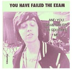 Idk if this should go in my bands board since its kellin or my funny board since this is relatable and funny af