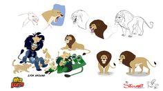 Wild Kratts - Alan's Character Design