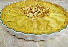 Gluten Free Apple Almond Tart with Almond Shortbread Crust: http://glutenfreerecipebox.com/gluten-free-apple-tart-almond-custard/ #glutenfree