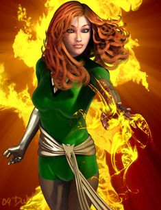 Jean Grey by ~CodenameZeus on deviantART