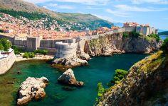 croatia landscape | Croatia, dubrovnik, landscape, water, sea, croatia, dubrovnik ...