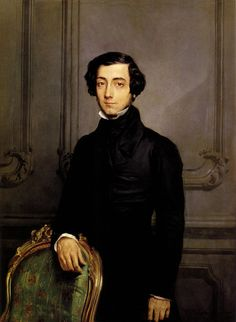 malebeautyinart:    Portrait of Alexis de Toqueville. Theodore Chasseriau (1819-1856). Oil on canvas, 1850Public collection