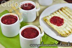 Receita de Geleia de Morango Diet