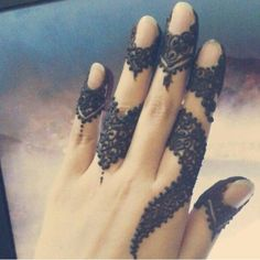 simple toping henna