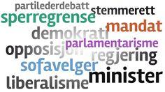 Supernytt - valet 2013  Ord du ikke forstår?