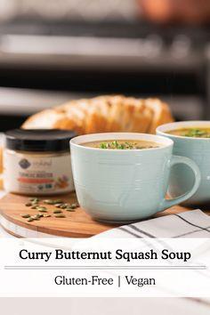 Soup Recipes, Whole Food Recipes, Vegetarian Recipes, Cooking Recipes, Vegan Foods, Vegan Dishes, Dairy Free Recipes, Gluten Free, Whole Foods Products