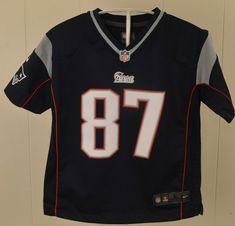 Nike New England Patriots Jersey  87 Rob Gronkowski kid NFL Kids Large (7) 7f4851540