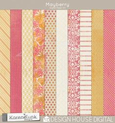 Mayberry - Digital Paper $1.00