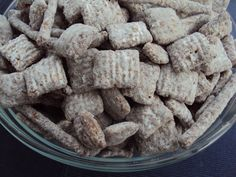 Nutella Puppy Chow Mix