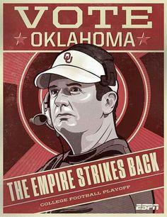 College Playoffs.  Vote Oklahoma.