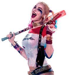 Margot Robbie como Harley Quinn en Escuadrón Suicida
