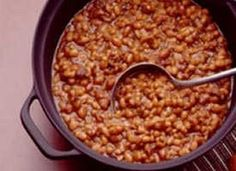 Slow-Cooker Bacon Brown Sugar Baked Beans recipe from Betty Crocker