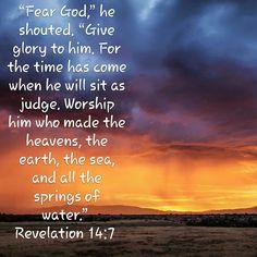 Revelations 14:7