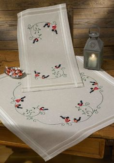 Printed Embroidery Christmas - Permin UK