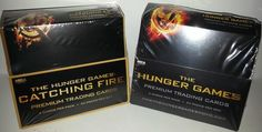 Sealed Trading Card Box - Hunger Games Store Hunger Games Merchandise, Hunger Games Trilogy, Percabeth, Catching Fire, Mockingjay, Percy Jackson, Trading Cards, Seal, I Am Awesome