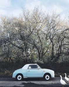 Sara Tasker (@me_and_orla) • Instagram photos and videos Nissan Figaro, Crying My Eyes Out, New Nissan, Hello To Myself, Say Hello, Daydream, I Am Awesome, In This Moment, Adventure