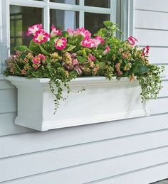3-Foot Yorkshire Easy-Care Self-Watering Window Planter Box, in White . $109.95. The 3 foot Yorkshire window planter box combines good looks and low maintenance. Complement the appearance of your home with a window box that won't warp or rust and never needs painting. Easy care PVC cleans up with the simple rinse of a garden hose. A sub-irrigation water system encourages root growth even if you forget to water. Before assembly, can also be cut to fit a custom size window. Sta...