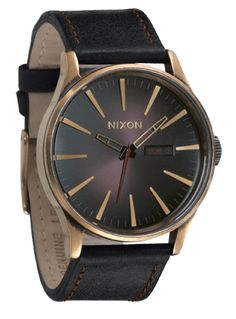 Nixon Sentry Leather $189
