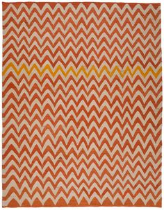 1729 Old Yarn Kilim ZigZag rug from Loom. Please be in my house when I get home.