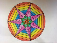 Heptagon Polígono estrellado - 2ESO - star polygon - polygone étoilé