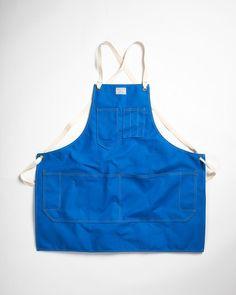 Artifact Bag Co. Artisan Apron Blue Bird