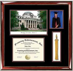 university of north carolina greensboro diploma frame mahogany lacquer wembossed seal name tassel holder navy on gold mat tassels - Diploma Frames With Tassel Holder