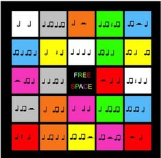 Rhythm Bingo (quarter note/rest - eighth notes - half note/rest) Physical Education Games, Music Education, Health Education, Elementary Music, Elementary Schools, 2nd Grade Music, Bass Guitar Straps, Smart Board Lessons, Bass Guitar Lessons