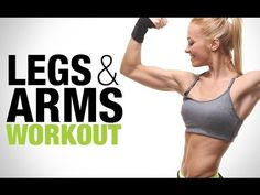 Women's 'Trouble Zone' Workout (ARMS AND LEGS!!)