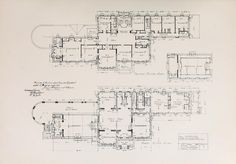 Plan for a mansion ar Bryn Mawr   ARCHI/MAPS : Photo